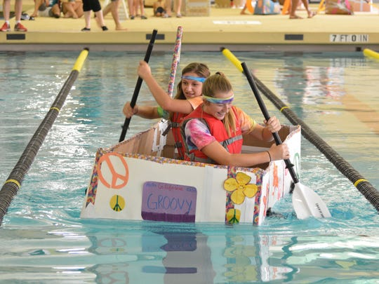 The Cardboard Regatta will be held Aug. 26 at the Community Pool.