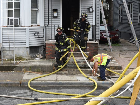 Firefighters responded to a fire on Totowa Avenue in Paterson on July 13.