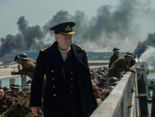 "Kenneth Brannagh in ""Dunkirk."""