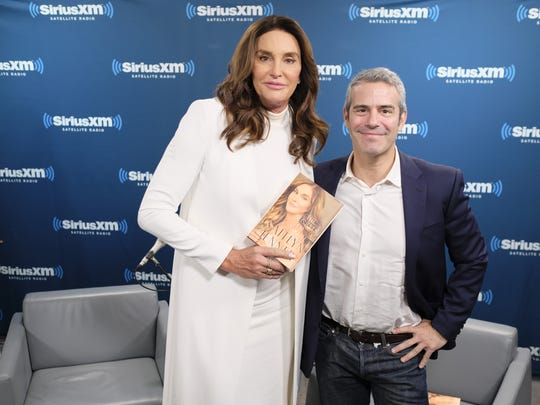 Television personality Caitlyn Jenner is No. 44 and