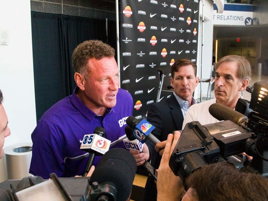 Grand Canyon men's basketball coach Dan Majerle talks