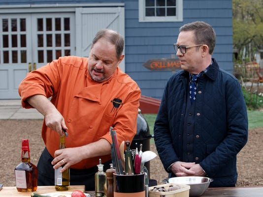 636368528377452449-Jeff-Bannister-on-Chooped-Grill-Masters-with-host-Ted-Allen---courtesy-of-Food-Network.JPG