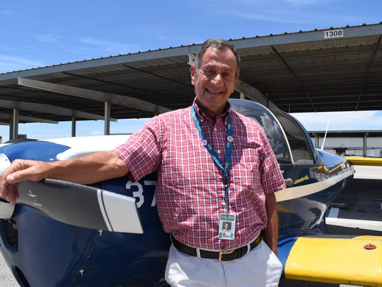 "Rick Mellon said he ""loves to chase clouds"" in the 1946 Ercoupe he keeps at the Naples Municipal Airport. He recently received the prestigious Wright Brothers Master Pilot Award from the Federal Aviation Administration for flying more than 50 years."