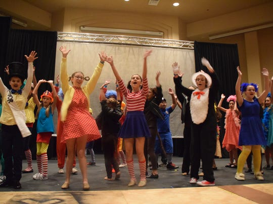 "Lots of favorite characters from Dr. Seuss books are featured in ""Seussical."""