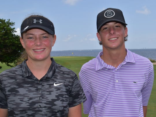 Jay High's Sarah Edwards and West Florida High's Cameron Bonner produced special golf memories in winning respective girls, boys titles at A.Downing Gray Cup junior tournament.