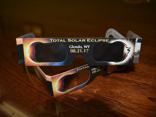 These glasses are safe for viewing the total solar
