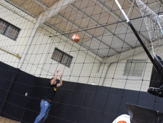 Gym attendant TJ Tenorio takes a shot at Ballers Gym