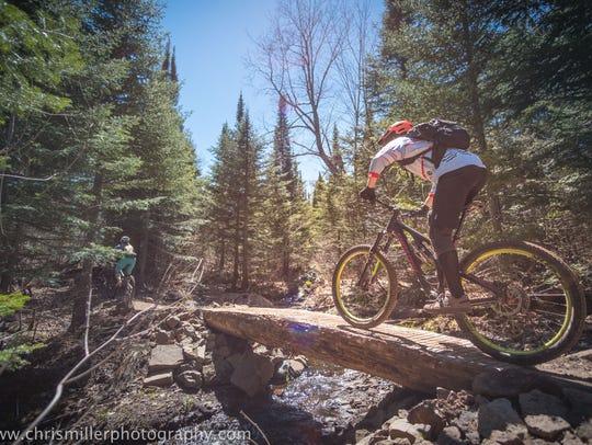 Copper Harbor Trails has been designated a silver-level