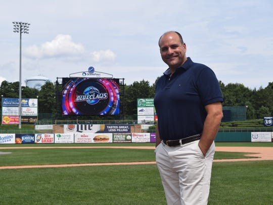 New BlueClaws GM and Presidetn Joe Ricciutti.