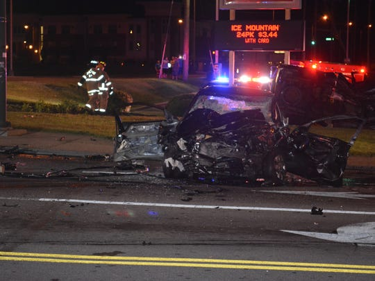 The Ohio Highway Patrol and Lancaster Police Department are investigating an injury crash at Memorial Drive and Lincoln Avenue that occurred around 10:30 p.m. Sunday night.