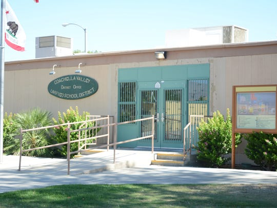 Coachella Valley Unified School District offices in