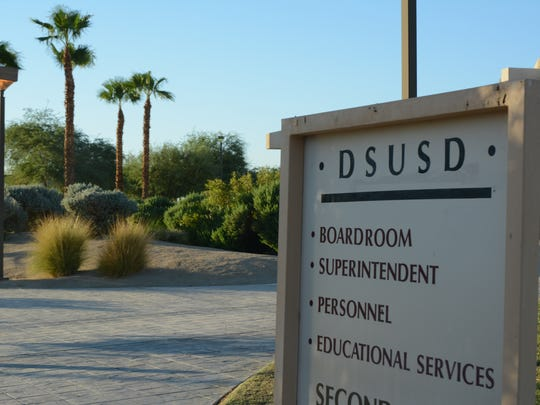Desert Sands Unified School District offices in La Quinta.