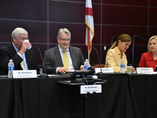 The Triumph Gulf Coast board meets on Aug. 16 in Panama City.