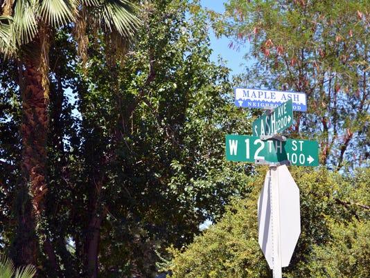 Maple-Ash neighborhood