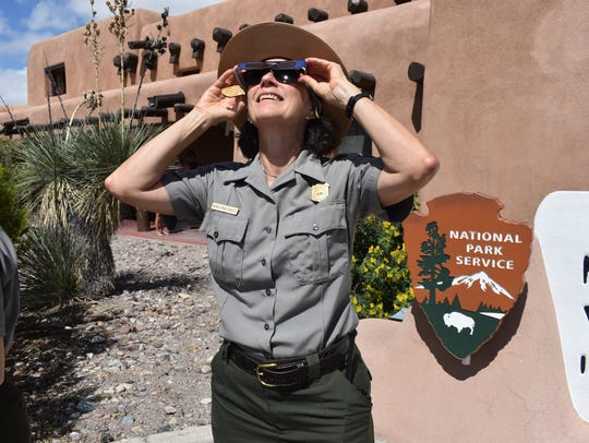 White Sands National Monument Superintendent Marie