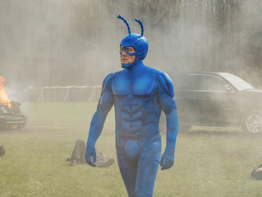 Peter Serafinowicz appears in 'The Tick' premiering