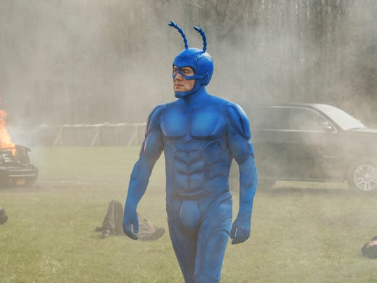 Peter Serafinowicz appears in 'The Tick' premiering on Amazon.