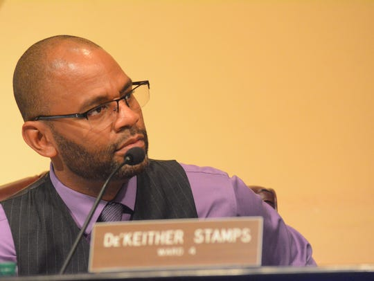Ward 4 Councilman De'Keither Stamps