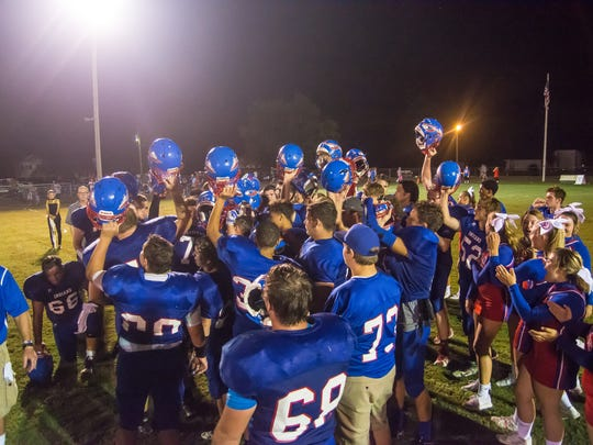 Harpeth defeated Montgomery Central 20-7 on Friday.