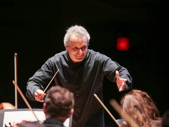 Maestro Louis Langrée, music director of the Cincinnati