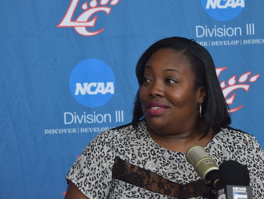 Patrece Carter, Louisiana College women's basketball head coach and associate athletic director, said she has already had talks about hosting the American Southwest Conference Tournament in Alexandria.