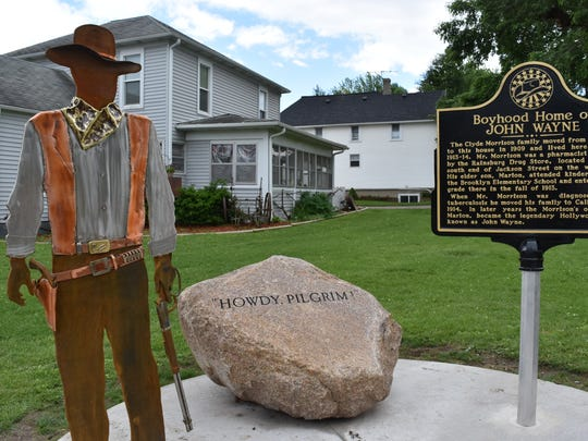 The Boyhood Home of John Wayne Historic Site has become