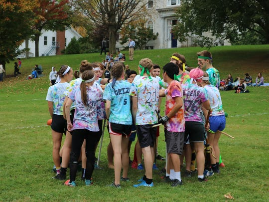 The Middlebury Classic Quidditch Tournament at Middlebury College hosted teams from all over the North East and drew in young Harry Potter fans, on Oct. 7, 2017.
