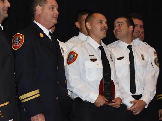 North Collier Fire & Rescue Firefighter Anthony Aguilera,