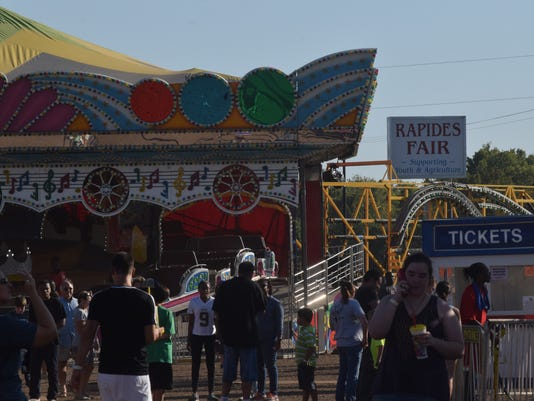 The Rapides Parish Fair Friday, Oct. 13, 2017. The fair and the Mighty Thomas Carnival located on Highway 167 near LSUA, continues until Sunday.