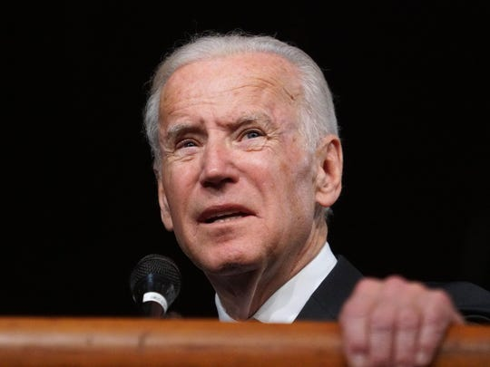 Vice president Joe Biden can't believe you ranked him as the sixth most famous person from Delaware.