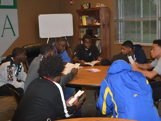 Bible study is one of the ways the Juvenile Intervention And Faith-Based Follow Up (JIFF) program helps repeat youth offenders.