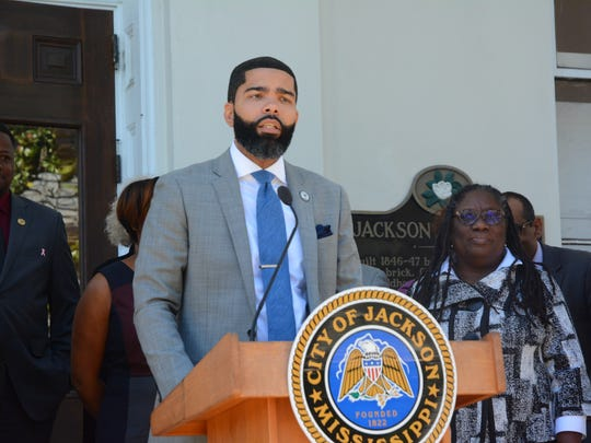 Jackson Mayor Chokwe Antar Lumumba on Thursday laid