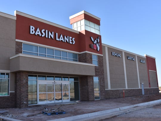 Construction on Basin Lanes is almost complete, projected to finish up in January. City officials predict the facility will be open to the public in summer 2018.
