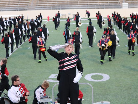 The Holliday Eagles band will compete for the 13th