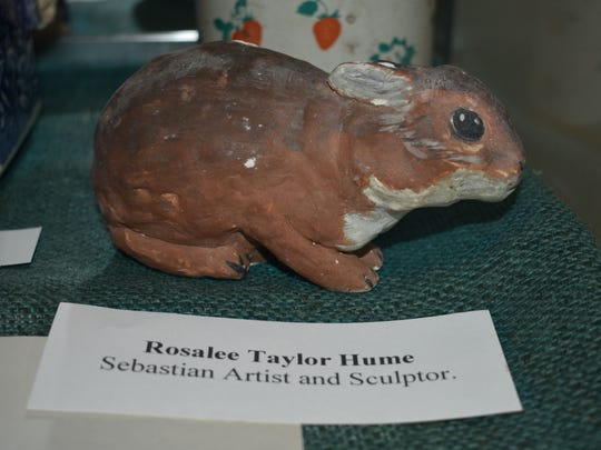 An original Hume piece is on display at the Sebastian River Historical Museum.