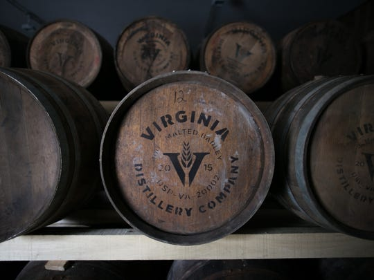 The spirits of the Virginia Distillery Company are