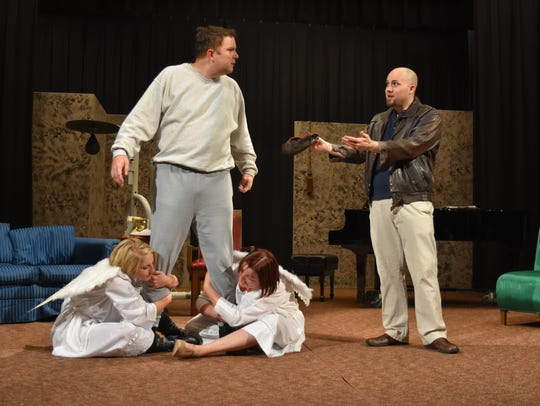 "A quarterback, accidentally taken away from his body by an over-anxious angel, returns to life in the body of a recently murdered millionaire in ""Heaven Can Wait,"" 7 p.m. Nov. 17-18 and 3 p.m. Nov. 19, The Salvation Army Ray & Joan Kroc Corps Community Center, 1865 Bill Frey Drive. $15. brownpapertickets.com."