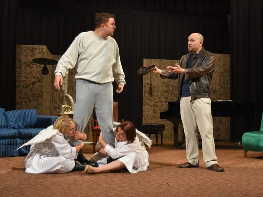 """A quarterback, accidentally taken away from his body by an overanxious angel, returns to life in the body of a recently murdered millionaire in """"Heaven Can Wait,"""" 7 p.m. Nov. 17-18 and 3 p.m. Nov. 19, The Salvation Army Ray & Joan Kroc Corps Community Center, 1865 Bill Frey Drive. $15. brownpapertickets.com."""