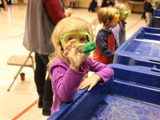Immaculate Conception School students got the chance to make their very own slime when COSI on Wheels visited Wednesday.