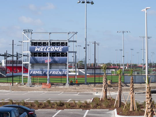 Work is about 93 percent complete on the USSSA Space
