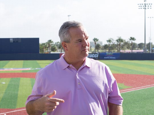 Kevin Reynolds, general manager of the USSSA Space