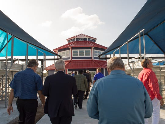 Tourism officials tour the upgraded USSSA Space Coast