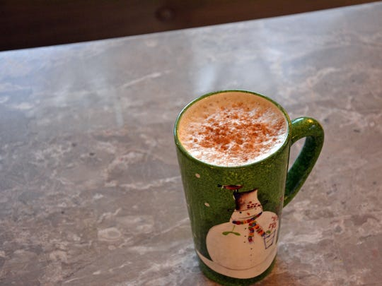 Chai Tea Latte incorporates sweetened milk frothed