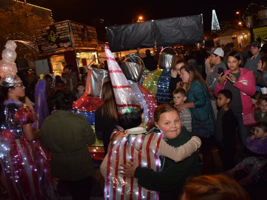 Alexandria's WinterFete activities held Friday, Dec. 1, 2017 in downtown Alexandria. The festivities continue Saturday beginning with the Ugly Sweater 5K at 8 a.m.