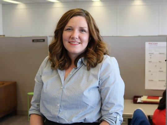 Amanda Ortman heads the Mayor's Action Center.
