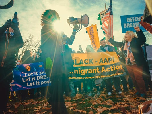 Immigration rally in D.C.
