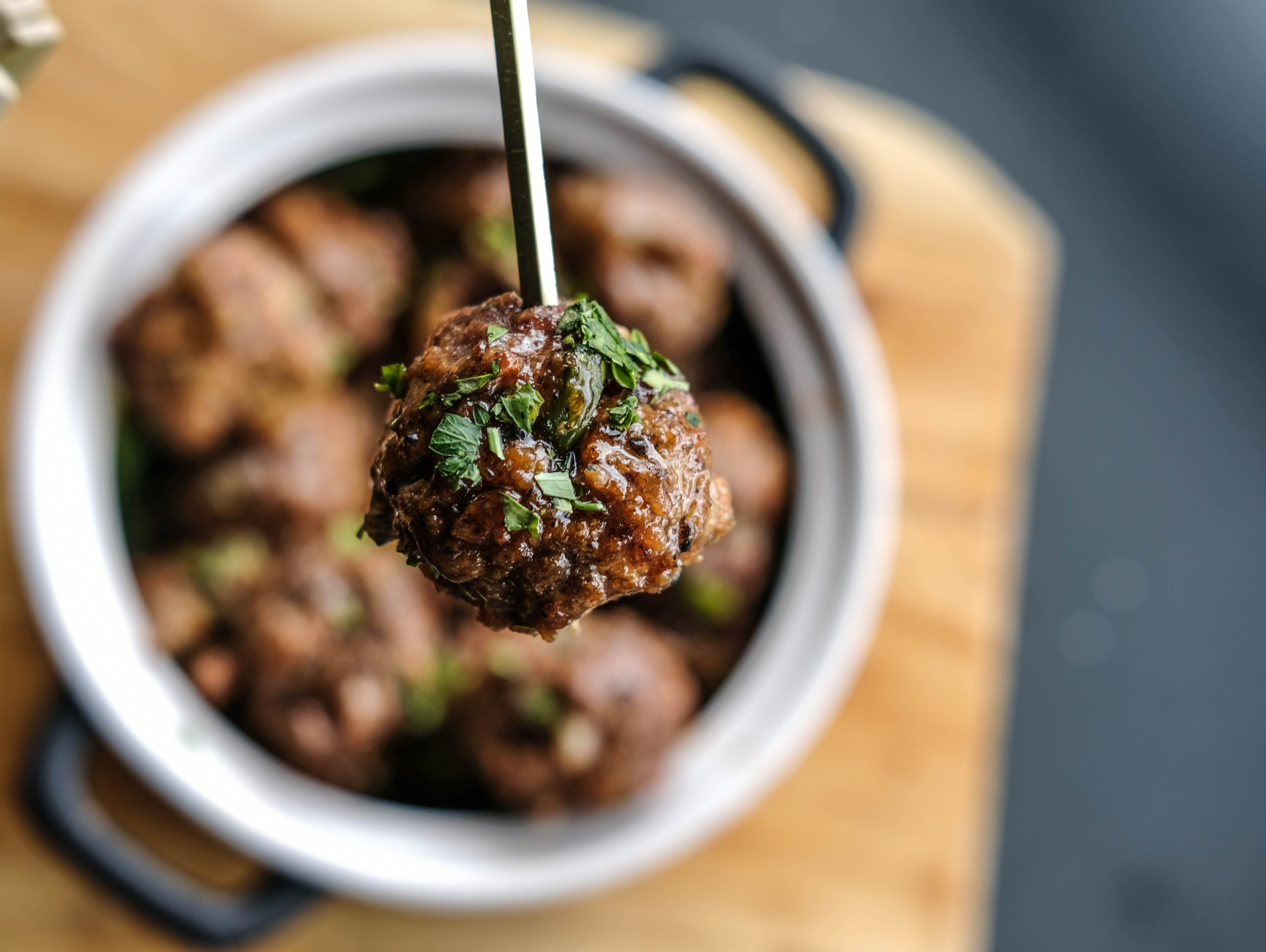 The perfect meatball recipe to try for your next tailgate.
