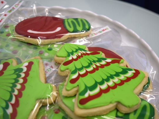 Classic Sugar Cookies with Royal Icing baked by Kerri