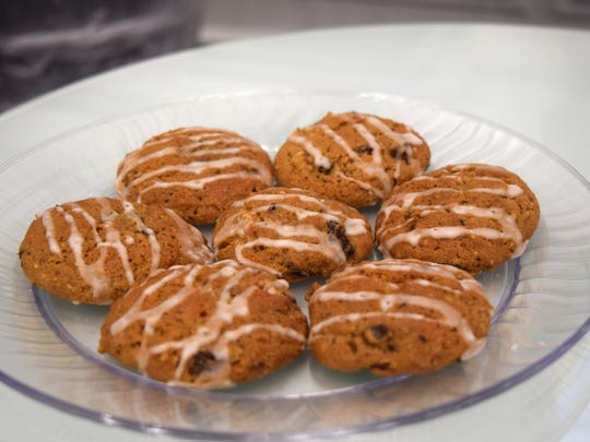 Whole Wheat Ginger Mincemeat cookies entered by Chris Falkey.