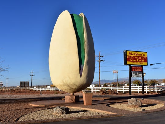 File photo of McGinn's PistachioLand in Alamogordo.